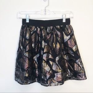 Free People | Festive Mini Skirt